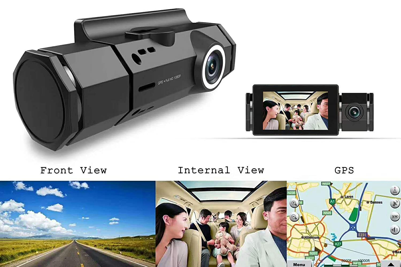 Parking Monitor Ai Long Ka Loop Recording Dash Cam XQCK-S3001G 1080P FHD Car DVR GPS Track Playback,G-Sensor Motion Detection