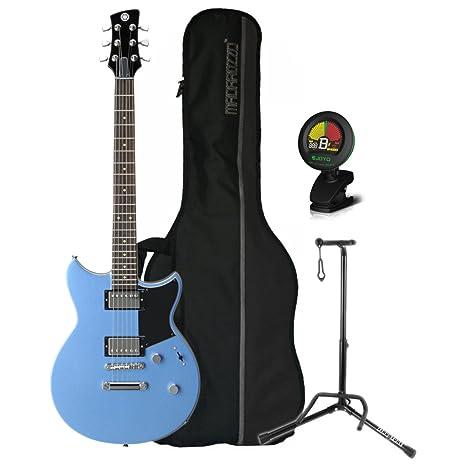 Yamaha rs420 FTB revstar double-cutaway OTAN cuerpo Factory azul guitarra eléctrica w/funda