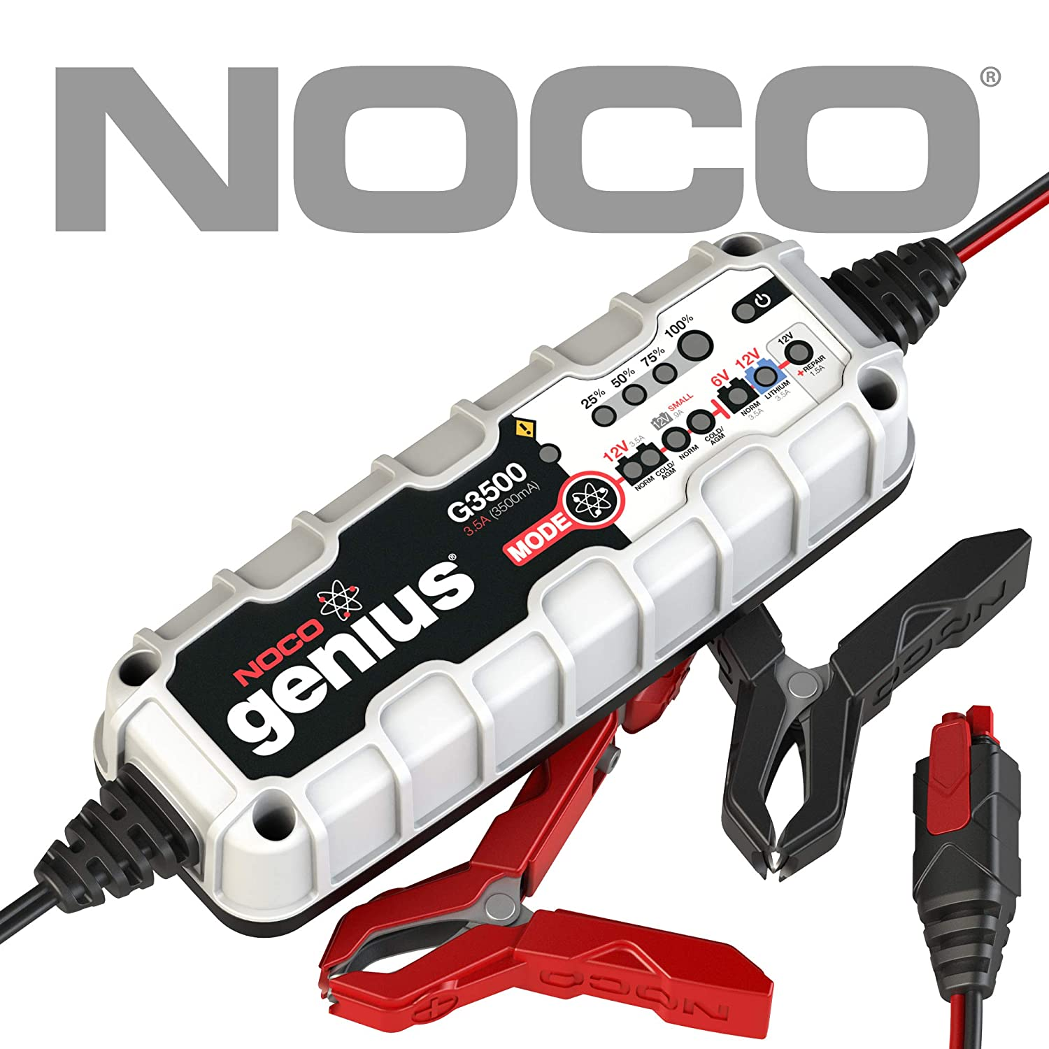 NOCO Genius Boost G3500EU NOCO Genius G3500 Ladegerä t, 6V/12V 3.5A, Version 2