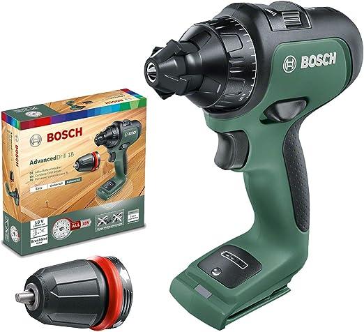 Bosch - Taladro/atornillador a batería AdvancedDrill 18 (sin ...
