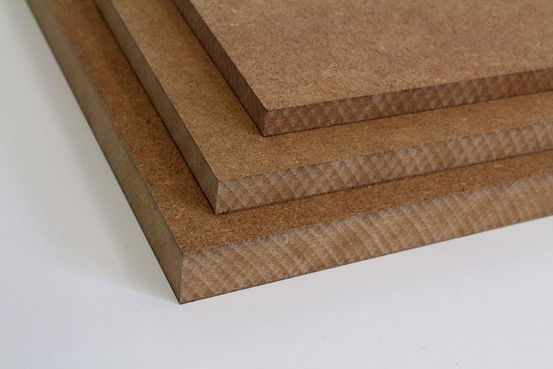 16//19 60 x 60 cm, 12mm St/ärke MySpiegel.de Tischplatte Holz Zuschnitt nach Ma/ß Holzzuschnitt MDF Platte in 8//12 22 25mm
