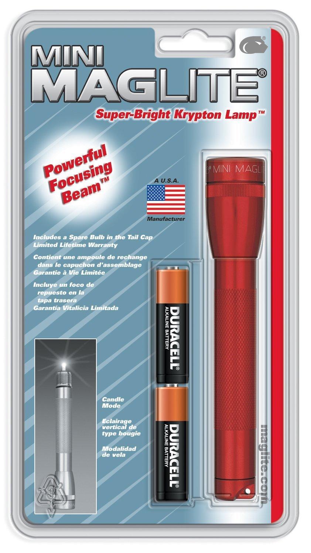 Taschenlampe Unisex/ Rot MagLite M2/A 036 Einheitsgr/ö/ße /Erwachsene