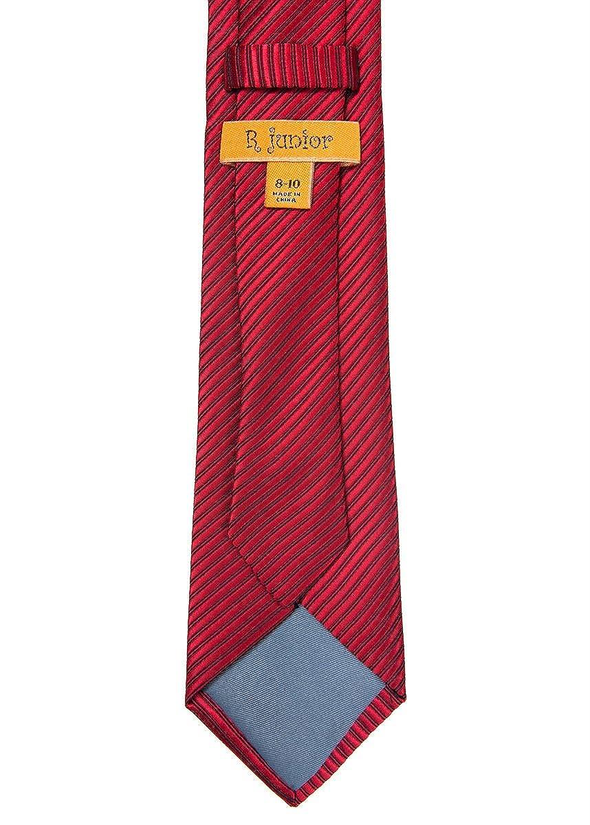 d5513c843 Retreez - Corbata - Rayas - para niño rojo 8-10 Años  Amazon.es  Ropa y  accesorios