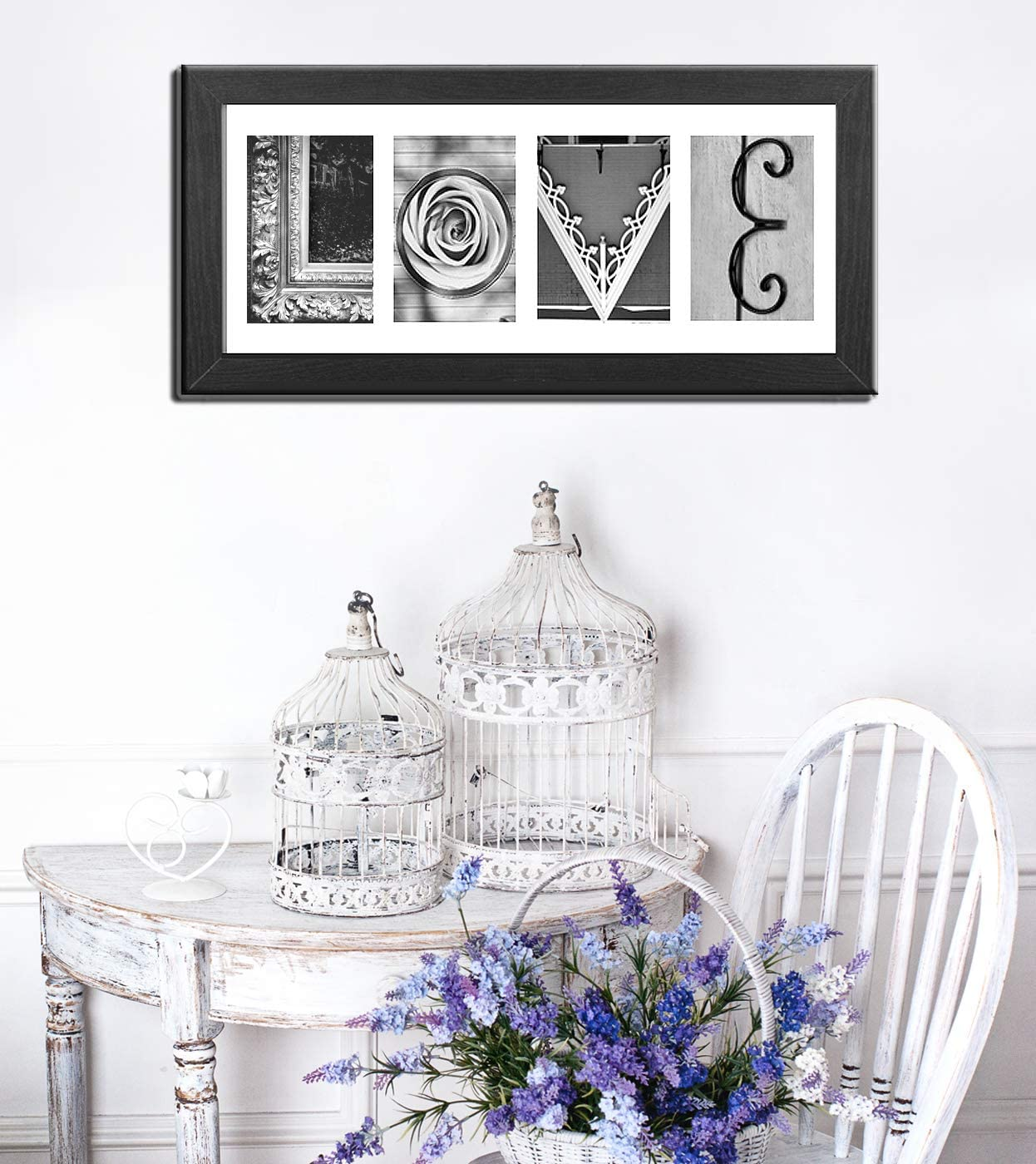 Classic Collection Black and Fine Art pacakge with 100 Custom Alphabet Letters