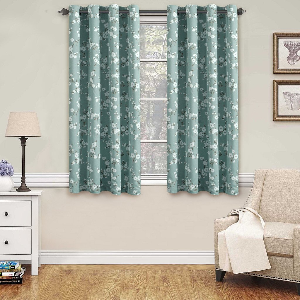 Blackout Room Darkening Curtains Ease Bedding With Style