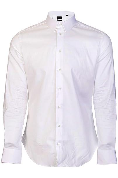 outlet 1ad93 a3b2d Camicia Emporio Armani Uomo Bianca: Amazon.it: Abbigliamento