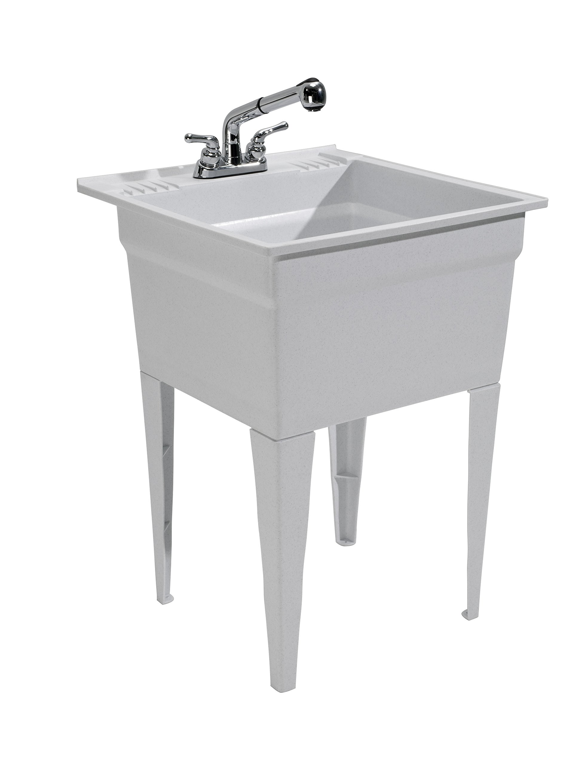 CASHEL 1960-32-02 Heavy Duty Sink - Fully Loaded Sink Kit, Granite by Cashel