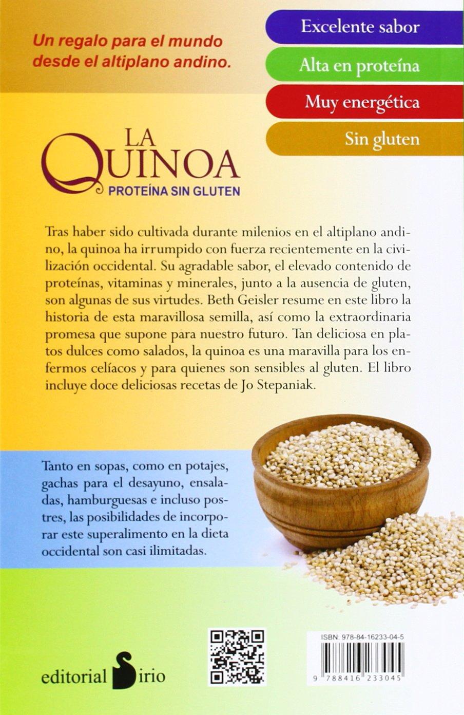 La quinoa (Spanish Edition): Beth Geisler: 9788416233045: Amazon.com: Books