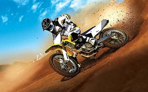 """MOTOCROSS DIRT BIKE JUMP SPORT PHOTO ART PRINT POSTER 44/""""x24/"""" 015"""