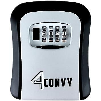 Favorit Key Safe 4CONVY Schlüsselsafe - Mini Lock Box Tresor für aussen FH48
