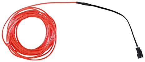 Amazon.com: [Electric EX] shiny wire 5m red: Toys & Games
