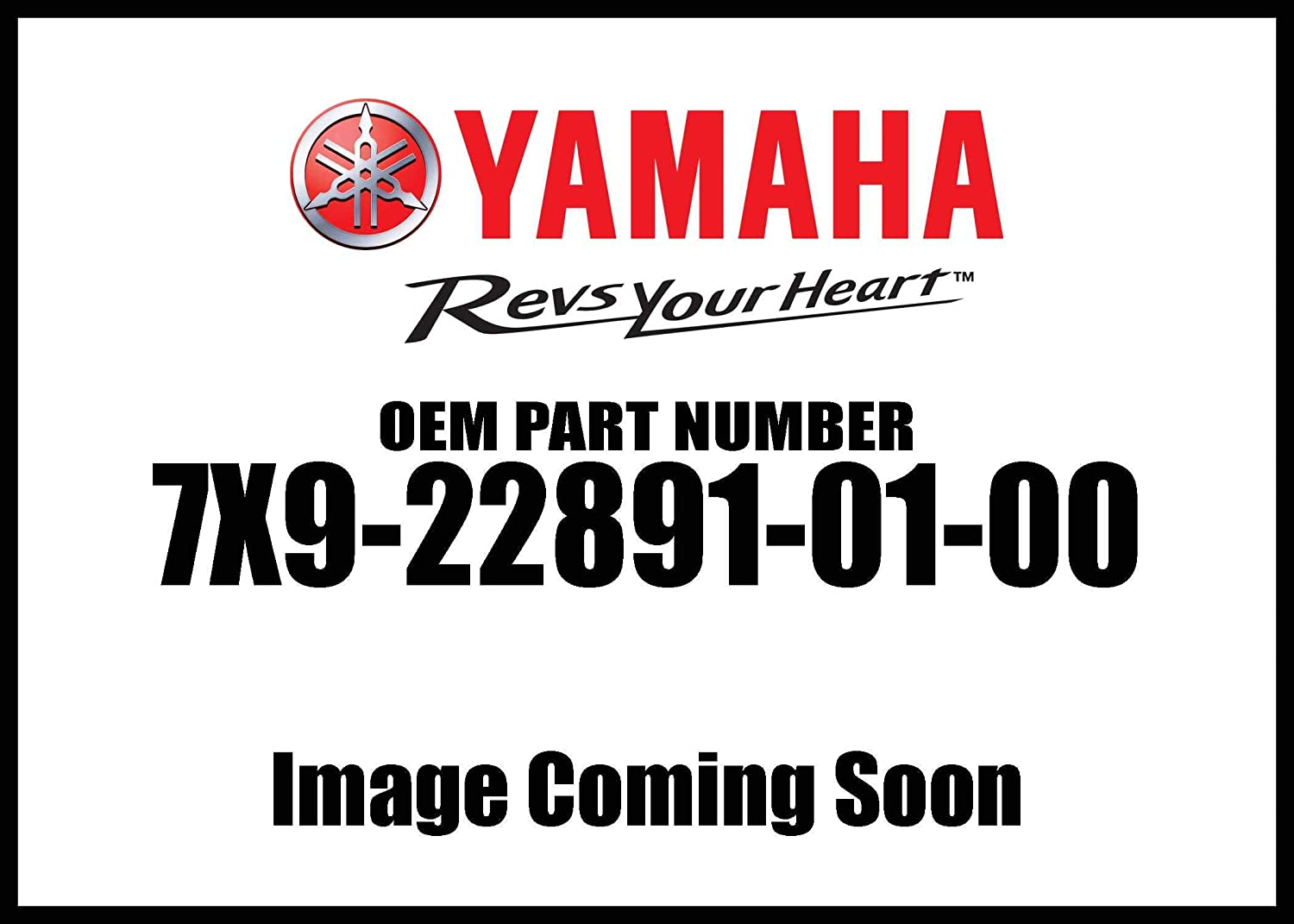 Yamaha 7X9-22891-01-00 Insulator, Mounting; 7X9228910100 Made by Yamaha