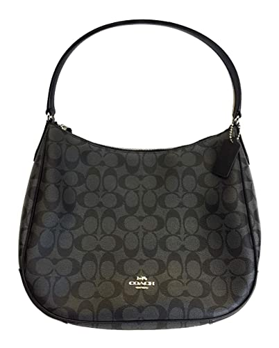 3a88a48c89669 ... low cost amazon coach signature hobo bag black smoke black f29209 shb  shoes bd7d6 e3e1b