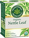 Traditional Medicinals Organic Nettle Leaf Herbal Tea (Pack of 1), Supports Joint Health, 16 Tea Bags