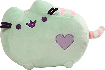 Purple Gund Pusheen Pastel Heart Cat Plush 12