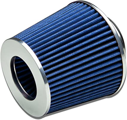 RED Universal Inlet Air Intake Cone Open Top Dry Replacement Filter For Chervy