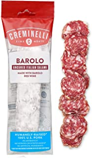 product image for Creminelli - Italian Artisan Handcrafted Fine Meats, Barolo Salami, 5.5 Ounce