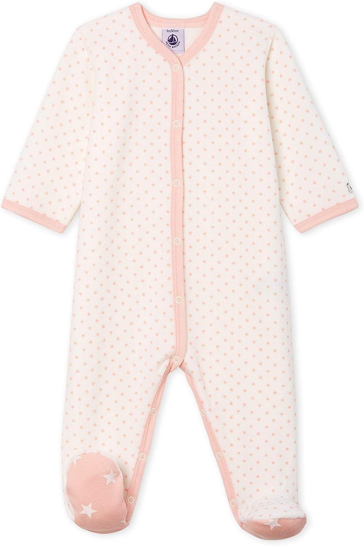 Petit Bateau Baby Girls Sleepsuit