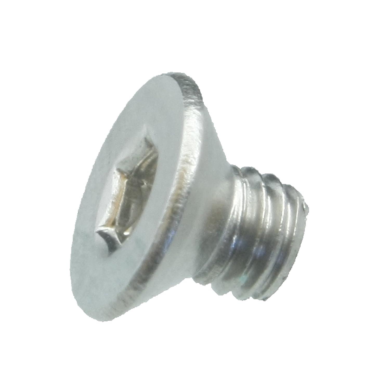 VA // V2A ISO 10642 // DIN 7991 25 Senkkopfschrauben Edelstahl M3 x 6 mm Werkstoff A2 Senkschrauben mit Innensechskant und Vollgewinde