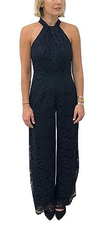 ce32a97a64282e Amazon.com  Julia Jordan Women s Halter Jumpsuit  Clothing