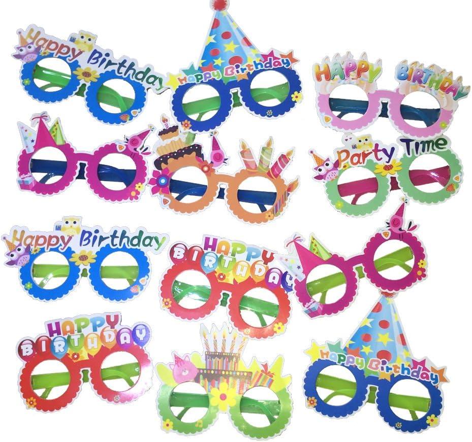 Happy Birthday Glasses Novelty Sunglasses Party Supplies For Kids Children Decor