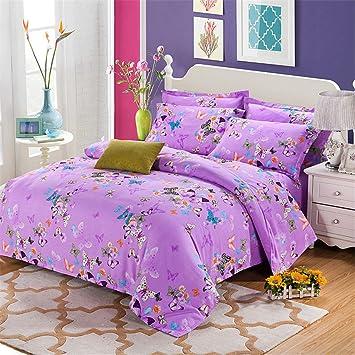 Simonshop Coton Doux Sweet Papillon D Impression De Couette Home