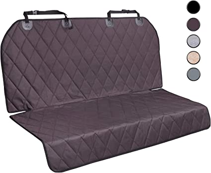 Vivaglory Dog Car Seat Protectors Grey No-skirt Design Car Seats Covers for Small /& Large Cars SUVs /& MPVs S Quilted 600D Oxford Pet Seat Cover