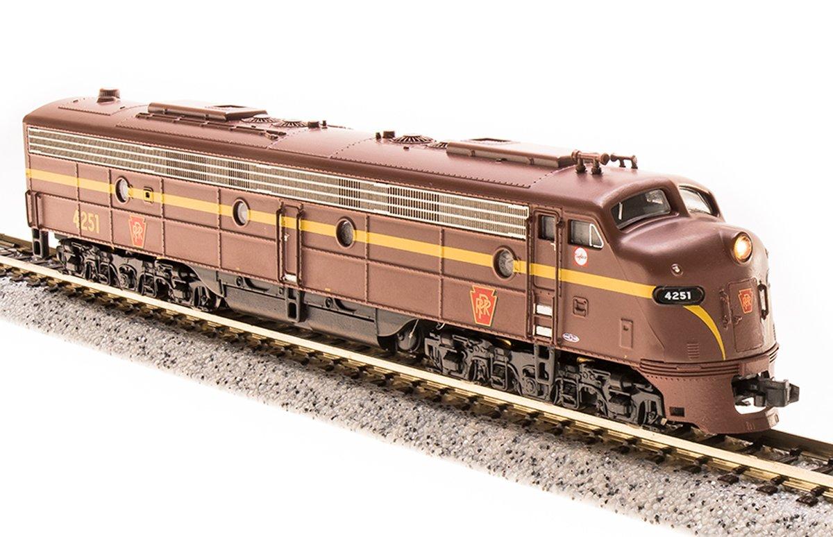 N Scale E8A Locomotive DC DCC Paragon3 Sound PRR #4261 Broadway Limited