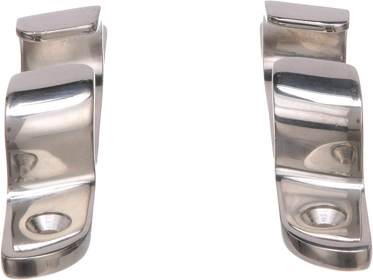 Seachoice 31251 Bow Chocks Accept Up to 5//8 Inch Line Pack of 2 Polished 316 Stainless Steel 4-3//4 Inches Long