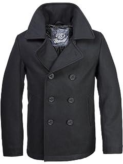 BW ONLINE SHOP Navy PEA Coat Marine Colani Wintermantel