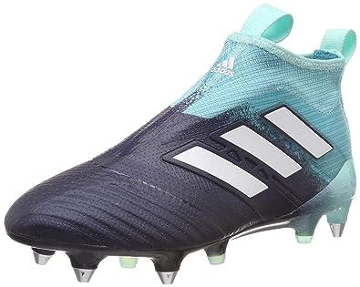 size 40 a1cca d37ed adidas Ace 17+ Purecontrol SG, Chaussures de Football Homme, Bleu  Dunkelblautürkis