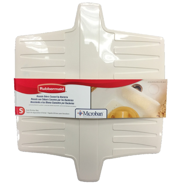 rubbermaid sink divider mat color bisque