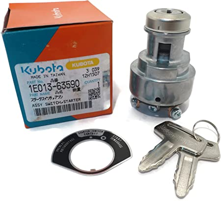 Amazon.com: OEM Kubota Starter Key Switch de ignición para ...