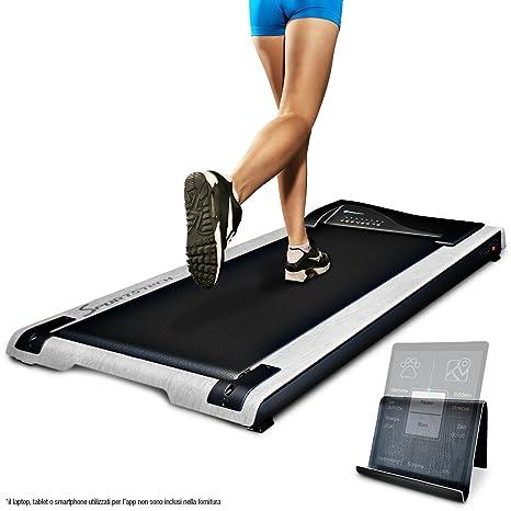 sportstech tapis roulant bureau dft200 deskfit avec app tlcommande support tablette les tapis roulant bluetooth pour maison et bureau les tapis roulant - Tapis Roulant
