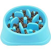SUPERGOODS Slow Feeder Dog Bowls, Maze Interactive Dog Puzzle Non Skid Stop Dog Food Bowls, Fun Feeder Sol Bowl, Eco…