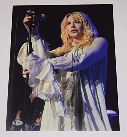 07a8987bea Courtney Love Signed Autographed 11x14 Photo HOLE Kurt Cobain s Wife Beckett  COA at Amazon s Entertainment Collectibles Store