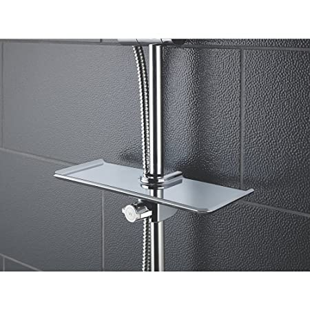 Shower Storage Shelf Chrome Plated.: Amazon.co.uk: Kitchen & Home