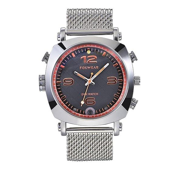 prettygood7 Reloj inteligente con cámara inteligente WiFi reloj de pulsera de salud con tecnología antinegro 16