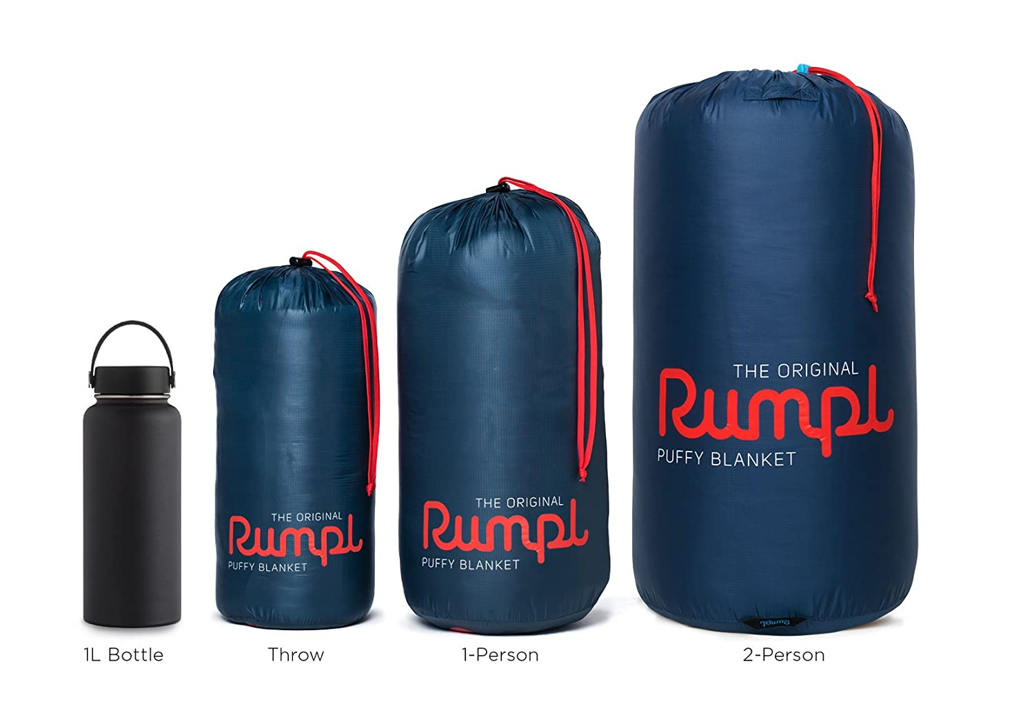 Beach Trips Rumpl The Original Puffy I Printed Outdoor Camping Blanket for Traveling Picnics Concerts