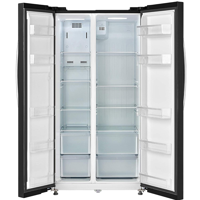 Comfee SBS 510 BL-NFA+ - Refrigerador y congelador (eficiencia ...