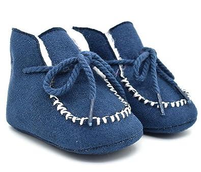 Leather Soft Baby Shoes Infant Prewalker Boy Sole Crib Kids Girl Boots Newborn