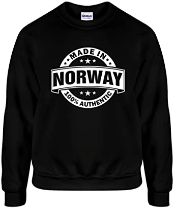 3d9097a23059 Amazon.com  Mighty Ambitious Made In Norway (Authentic) Funny Unisex ...