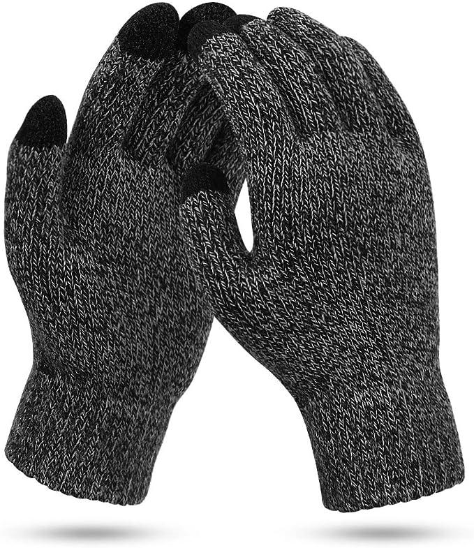 Winter Warme Touchscreen Handschuhe Winterhandschuhe für Damen Herren