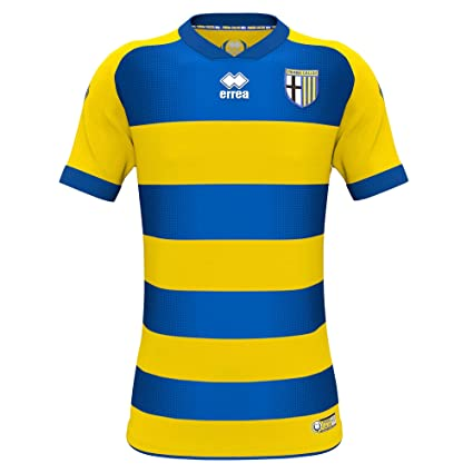 Errea Parma Away Replica Jersey 18/19 (Yellow/Blue/Navy, S