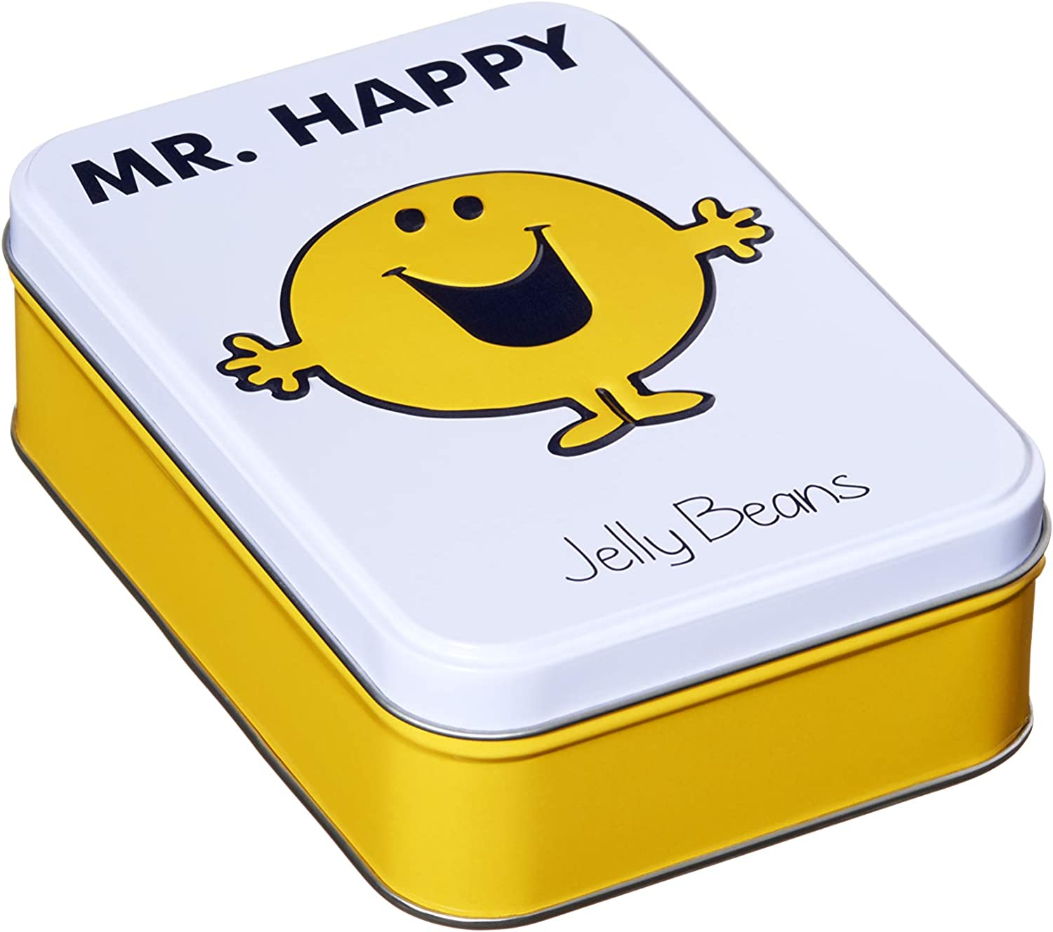 Mr. Happy Gift Tin filled with Jelly Beans. Guaranteed to put a smile on someone's face!