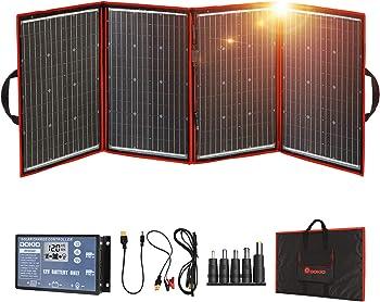 DOKIO 220 Watts Foldable Monocrystalline Solar Panel