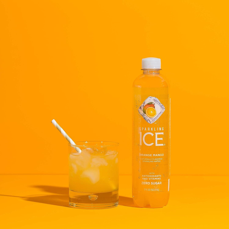 Sparkling Ice Orange Mango Water With E Juice Liquid Frosty Juiceango Apple Original 100 Not Ejm Antioxidants And Vitamins Zero Sugar 17 Ounce Bottles Pack Of 12 Drinks