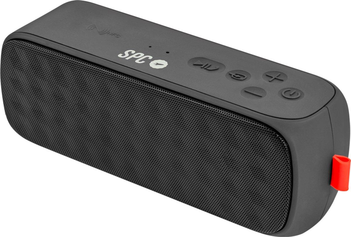 SPC 4400N Altavoz portátil - Altavoces portátiles (Estéreo, Inalámbrico y alámbrico, Batería, Bluetooth/3.5mm/USB, Universal, Negro): Amazon.es: Informática