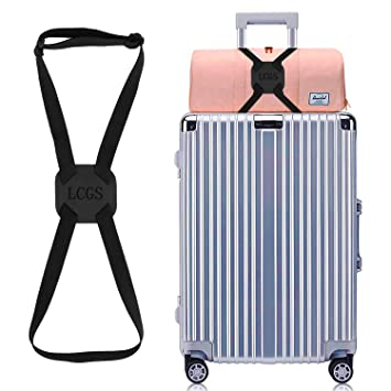 Amazon.com: Lcgs Bungee para equipaje, paquete de 2 unidades ...