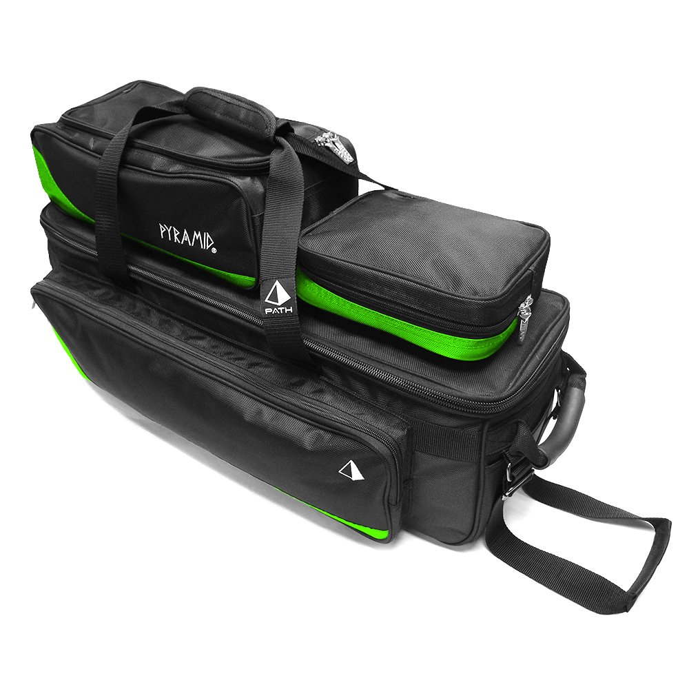 Pyramid Path Triple Tote Roller Plus Lime